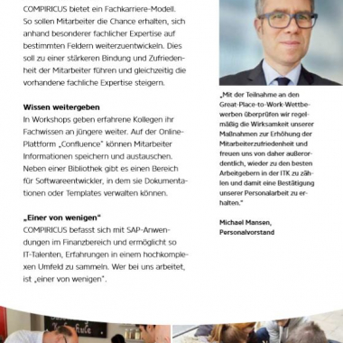Great Place To Work - Heft der Sieger 2018 (2/2)