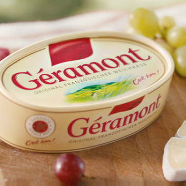 C'est bon, c'est bon Géramont, Géramont... Jeder kennt ihn, er ist der absolute Lieblingskäse in Deutschland!