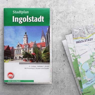 Klein, handlich und überall dabei: die gefalteten Stadtpläne und Kreiskarten vom Städte-Verlag.