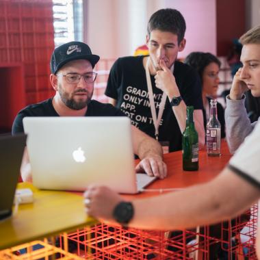 Arbeiten im Sparkassen Innovation Hub