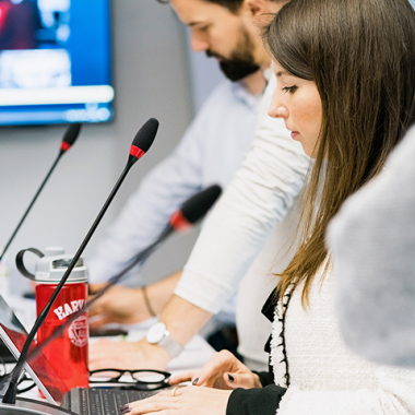 Redaktionskonferenz Newsroom,         Foto: WDR/Annika Fußwinkel
