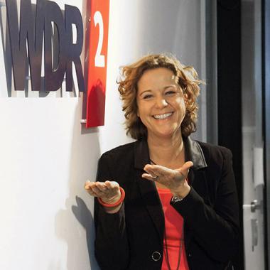 WDR 2 Moderatorin Steffi Neu, Foto: WDR/Frank Kühn