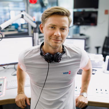 WDR Volontär, Foto: WDR/Michael Schwettmann