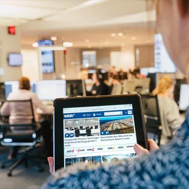 Newsroom, Foto: WDR/Annika Fußwinkel