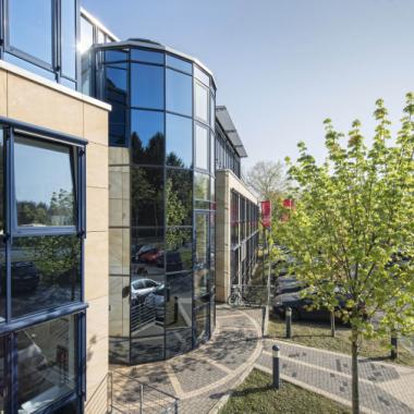 Gebäudeansicht der Comma Soft AG in Bonn