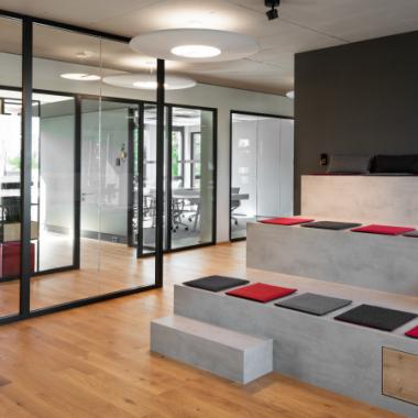 Co-Creation Campus der Comma Soft AG in Bonn