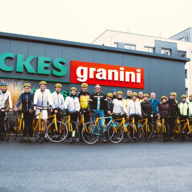 Radfahren für den guten Zweck - Team Rynkeby