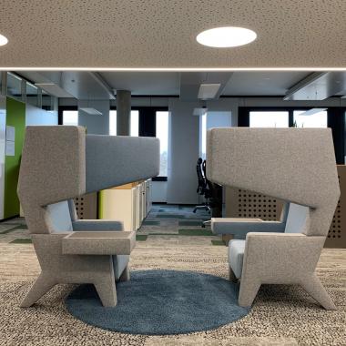 Dialogplatz | Perfekt für einen gemeinsamen Kaffee und eine kurze Abstimmung mit einem Kollegen