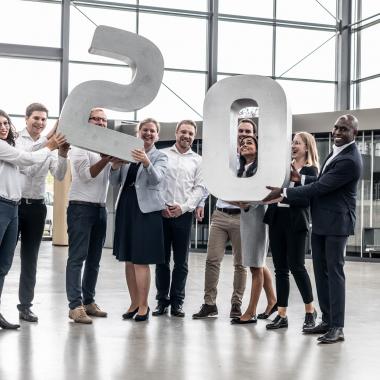 20 Jahre Zusammenarbeit