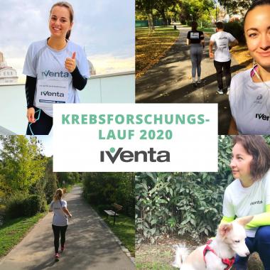 Gemeinsam trotz Distance Running - das Motto des Krebsforschungslaufs 2020!