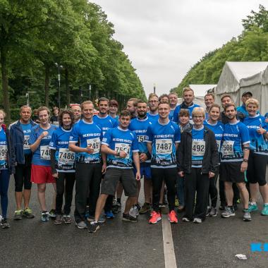 Als sportliches Familienunternehmen nimmt die KORSCH AG jedes Jahr am Berliner Firmenlauf am Brandenburger Tor teil.