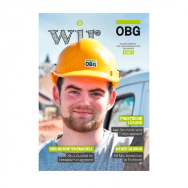 """Die """"WIR"""", unsere Firmenzeitschrift - Ausgabe 19, jetzt lesen: https://www.obg-gruppe.de/pdfs/OBG_wir19.pdf"""