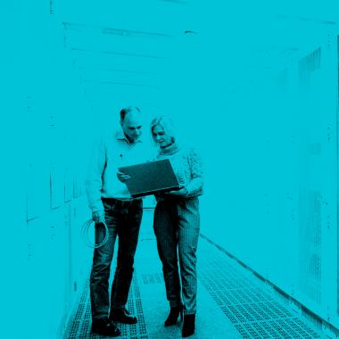 Einblick in unser eigenes Rechenzentrum: Cloud Services und IT-Outsourcing für mittelständische Unternehmen