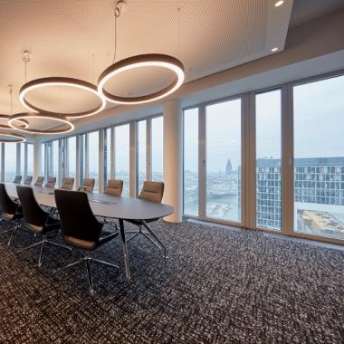 Kölner Büro im Kranhaus