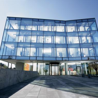 Der Firmensitz in Lenzkirch.