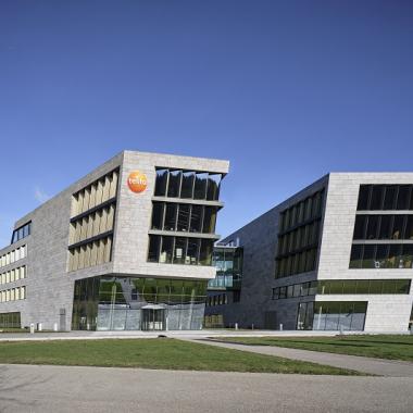 Die Testo Gebäude in Titisee.