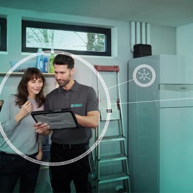 Den Kundenkomfort durch vernetzte Heiztechnologien steigern. Und den eigenen Arbeitsalltag durch digitale Möglichkeiten vereinfachen.