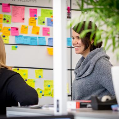 Mitarbeiterförderung und Personalentwicklung werden bei BMD groß geschrieben.