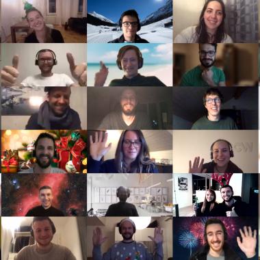 FAIRTIQ virtuelle Weihnachtsfeier 2020