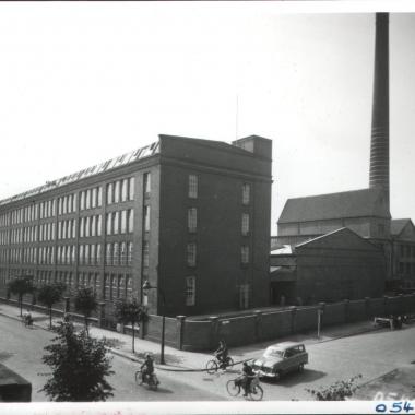 Historischer Rückblick: Werksgelände in den 1950er Jahren
