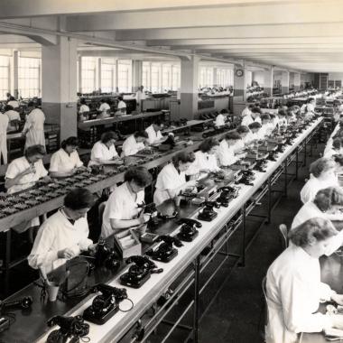 Historischer Rückblick: Produktion in den 1940er Jahren