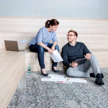 Doreen Exner und Jannik Gerwanski