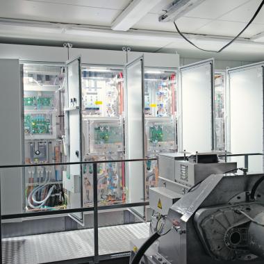 E-Motor Prüfstand