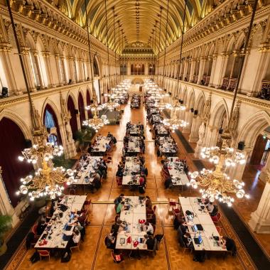 Cloudflight Coding Contest @Wien Rathaus
