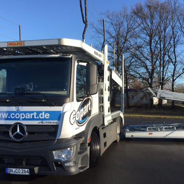 Copart Truck