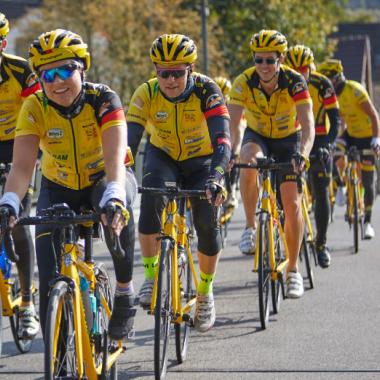 Radfahren für den guten Zweck - Unser Team Rynkeby
