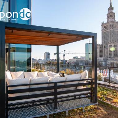 Terrasse Warschau