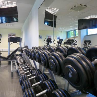Firmeneigenes Fitnessstudio zur kostenlosen Nutzung