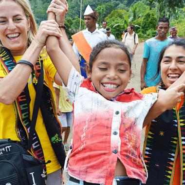 Gemeinsam in eine bessere Zukunft - Unsere Partnerschaft mit World Vision