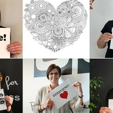 Mitarbeiteraktion 2020: Führungskräfte sagen Danke!