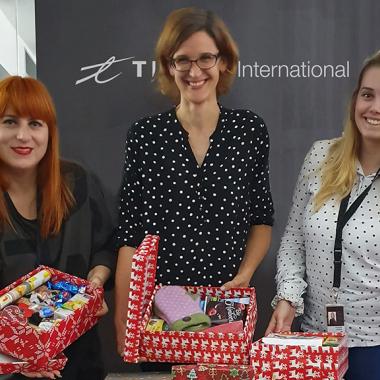 Mitarbeiteraktion: Giving Tuesday in Bratislava
