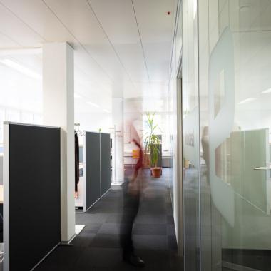 Offene und helle Büros