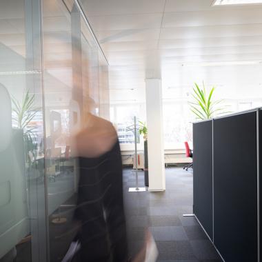 Offene und helle Büroräumlichkeiten