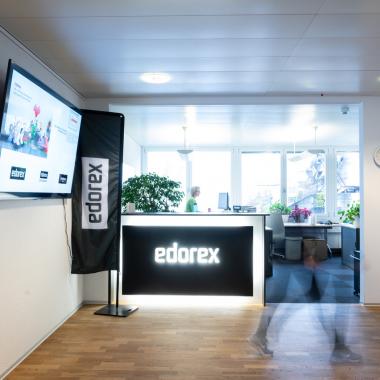 Eingangsbereich Edorex AG