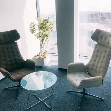 Loungebereich in unseren Büros