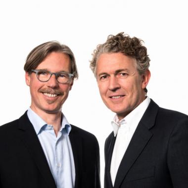 Unsere Geschäftsführer Roland Grassberger und Alexander Korte