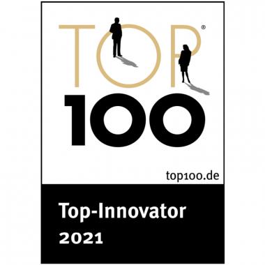 Auszeichnung zum TOP100-Innovator.