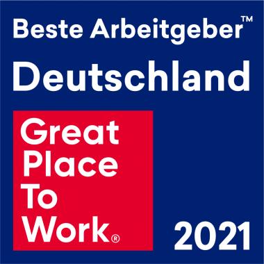 Deutschlands Beste Arbeitgeber 2021 - wir sind prämiert