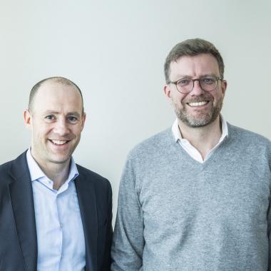 Dr. Daniel Bartsch und Dr. Tim Thabe, unser Vorstand!