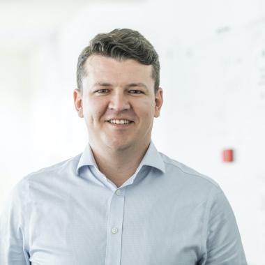 Senior Firmenkundenbetreuer Erwin Förderer im Einsatz