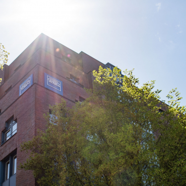 Die Funk Zentrale in der Hansestadt Hamburg.