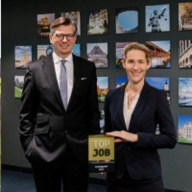 Christoph Bülk, Geschäftsführender Gesellschafter, und Dr. Anja Funk-Münchmeyer, Geschäftsführende Gesellschafterin
