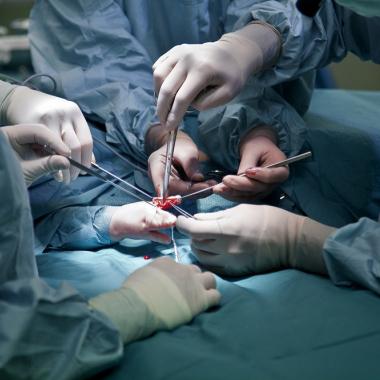 Eine unserer Kernkompetenzen: Handchirurgie