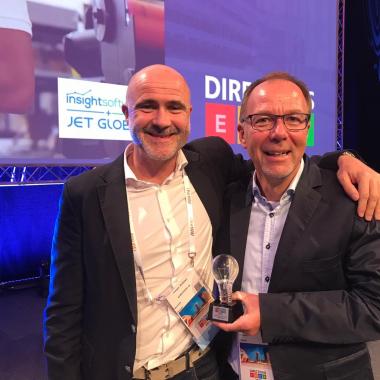 Award für erfolgreiche Entwicklung von Cloud-ERP-Lösungen   Microsoft Partnerkonferenz Directions EMEA