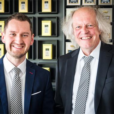 Jonathan Gschwendner und Thomas Holz - Geschäftsführung