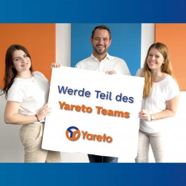 Alle unsere Stellen unter: www.yareto.de/karriere/